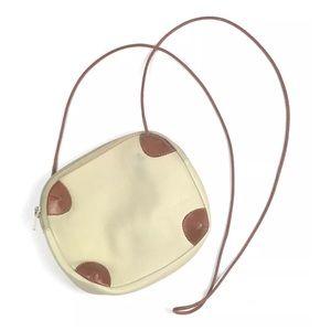 Vintage Furla Leather Crossbody Purse Bag